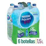 Agua mineral grande Nestlé Aquarel Mercadona