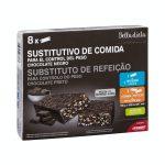 Barrita sustitutivo de comida Belladieta sabor chocolate negro Mercadona