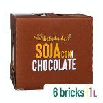Bebida de soja con chocolate Hacendado Mercadona