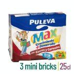 Bebida láctea con cacao y cereales crecimiento y desarrollo Puleva Max Mercadona