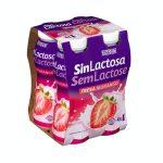 Bebida láctea sin lactosa de fresa Hacendado Mercadona