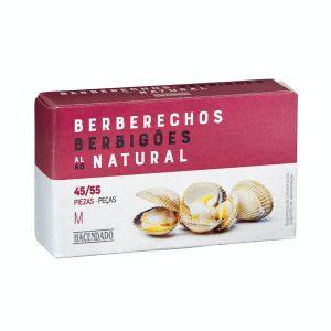 Berberechos al natural M Hacendado Mercadona