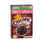 Cereales integrales copos de trigo Chocapic Nestlé con chocolate Mercadona