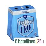 Cerveza 0,0% sin alcohol Falke Mercadona