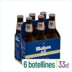 Cerveza 0,0% sin alcohol tostada Mahou Mercadona