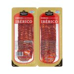 Chorizo ibérico La Hacienda del ibérico lonchas Mercadona