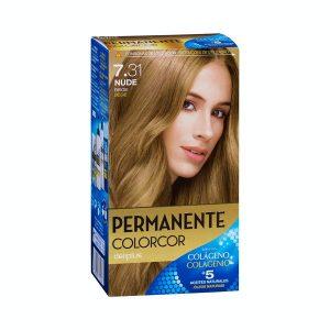 Coloración permanente 7.31 nude beige Deliplus Mercadona
