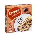 Crepes rellenos de chocolate Belga Hacendado ultracongelados Mercadona