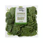 Espinaca baby base para ensalada Mercadona