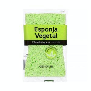 Esponja de baño vegetal fibras naturales Deliplus Mercadona