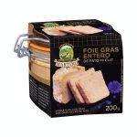 Foie gras entero de pato mi cuit Martiko Mercadona