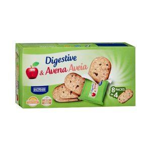 Galletas Digestive manzana & avena Hacendado Mercadona