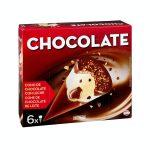 Helado cucurucho de chocolate Hacendado Mercadona