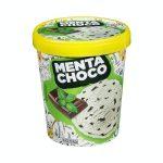 Helado menta choco con trocitos sabor chocolate Hacendado Mercadona