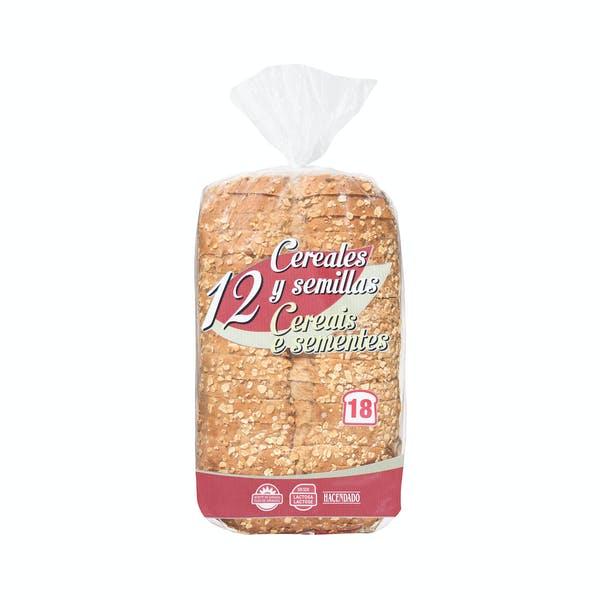 Pan De Molde 12 Cereales Y Semillas Hacendado 2021