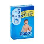 Pañales bebé talla 5 de 11-16 kg Dodot Mercadona