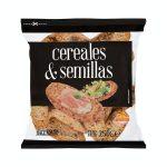 Panecillos tostados cereales y semillas Hacendado Mercadona