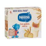 Papilla líquida leche y cereales con galleta maría Nestlé +6 meses Mercadona