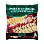 Parrillada de verduras Hacendado ultracongeladas Mercadona