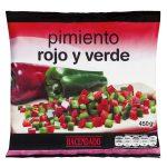 Pimiento rojo y verde Hacendado ultracongelado Mercadona