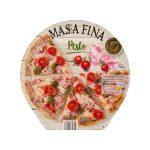 Pizza masa fina pesto Hacendado ultracongelada Mercadona