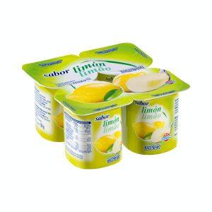 Yogur sabor limón Hacendado Mercadona